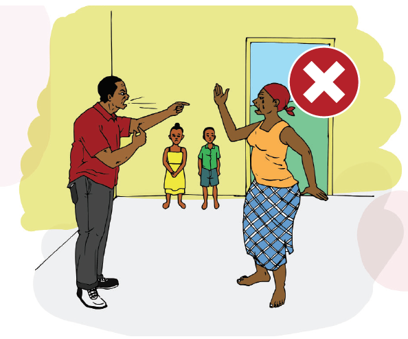 Awareness raising initiatives on domestic violence